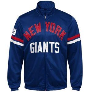 💥New NFL New York Giants G-III Track Jacket